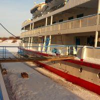 корабли зимой, Большое Пикино