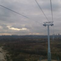 Cable railroad from Bor to Nizhniy Novgorod 1, Бор