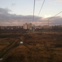 Cable railroad from Bor to Nizhniy Novgorod 2, Бор