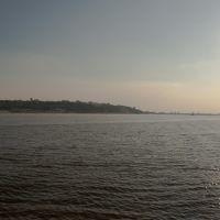 Вид на Нижний Новгород и стрелку от города Бор, Бор