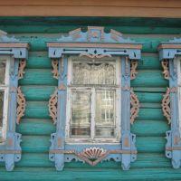 Деревянные дома, г.Бор, ул. Октябрьская, Бор