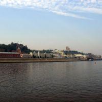 Нижний Новгород. Речной вокзал, Бор