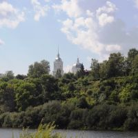 Вид на Троицкую церковь г. Ветлуга, Ветлуга