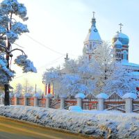 Ветлужская Свято - Екатерининская церковь и  мороз, Ветлуга