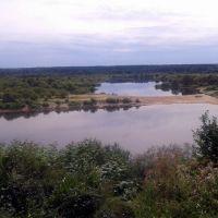 вид с Ветлуги на озеро, Ветлуга