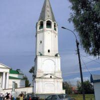 Арзамас. Церковь Смоленской иконы Божией матери, Колокольня, Выездное