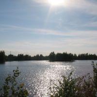 Озеро 115 км, Гидроторф
