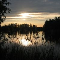 Закат на озере 115 км, Гидроторф