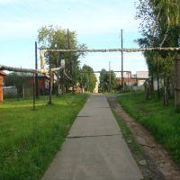 Улица Коммуны (вид со стороны домотдыха), Горбатов