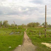 пешеходная дорога (07.05.2012), Горбатовка