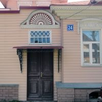 Erhaltenswerte Bauten in der Altstadt von Gorodez, Городец