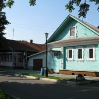 Houses in Gorodets 3, Городец