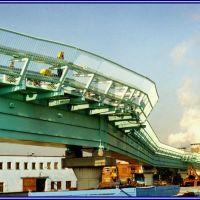 Мост для трубопроводов в Москве. Bridge for pipelines., Горький