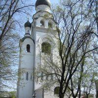Церковь Успения Пресвятой Богородицы в колокольне Рогожской общины. Москва, Горький