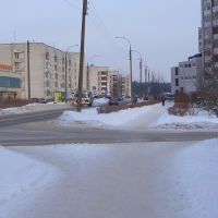 Molosdeshnaya - Blick zurück, Дзержинск