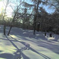 Площадь Сухаренко (зимой), Дзержинск