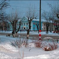 морозное утро., Дзержинск