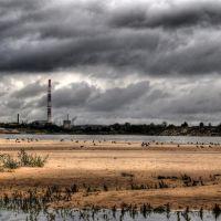 Вид на Заводы с Пляжа, Дзержинск