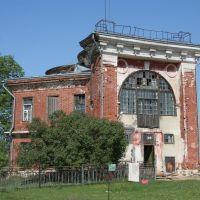 Охотничий домк Баташева, ныне поселковая Больница. Досчатое, Досчатое