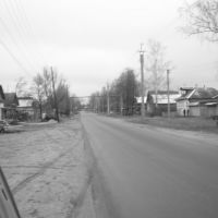 on the way to daschatoye, Досчатое