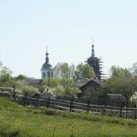 Вид на Досчатинскую церковь, Досчатое