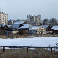Zavolzhye. Spring. Baikal. Matrosov Street., Заволжье
