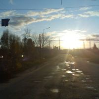 закат, Заволжье