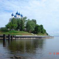 церковь на берегу Волги, Катунки