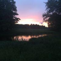 Закат на реке, Керженец
