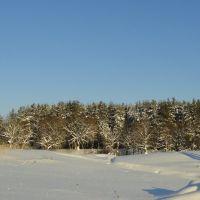 Зимой на Керженце, Керженец