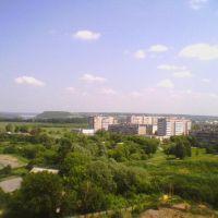"Вид из окна ""Торгового центра"" на ""Волгу"", Кстово"