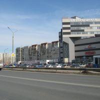 Бизнес-центр на Магистральной улице (Вид на север)  /  Business-center on Magistralnaya street (View on north), Кстово