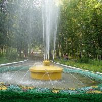The fountain of the Park, Кулебаки