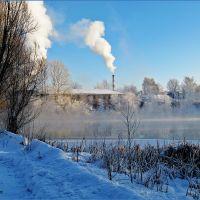 Кулебаки. Тёплый пруд зимой, Кулебаки