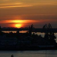закат над Волгой, Нижний Новгород