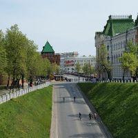 Кремль.Дмитриевская башня, Нижний Новгород