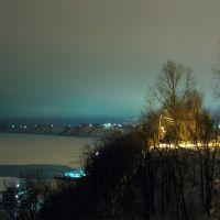 Набережная ночью, Павлово