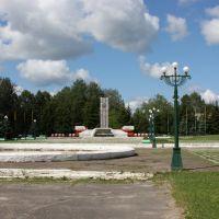 Площадь, 2008 г, Первомайск