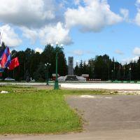 Площадь, 2008, Первомайск