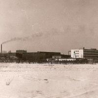"""Зимний вид на """"Ташин завод""""1991, Первомайск"""