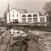Пожарное депо. 1991г., Первомайск