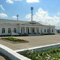 Вокзал (построен в 1914 г. по проекту А.В. Щусева ), Сергач