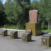 Мемориал в парке (Memorial of Second World War victims), Сеченово