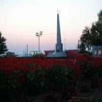 Паятник погибшим в ВОВ, Сосновское