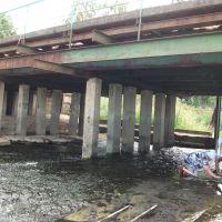 Тоншаево. Июль 2012г. Мост через Пижму, Тоншаево