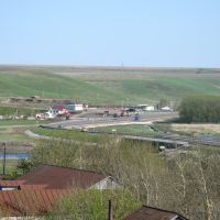 мост-перекрёсток (поворот в д.Рыбушкино), Уразовка