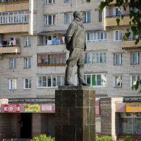 Памятник В.П.Чкалову (2012.07.01), Чкаловск
