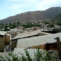 Akhty Big Village in Dagestan, Ахты