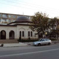 Салафитская мечеть в Буйнакске (Дагестан) / مسجد السلفية في مدينة بويناكسك الداغستانية, Буйнакск