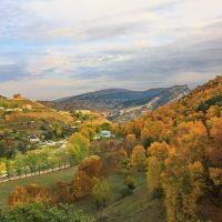 Золотая осень в Гунибе., Гуниб